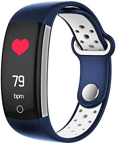 Layopo Fitness Tracker, 0.96 Inch BT Activity Tracker Watch with Heart Rate Monitor, Blood Pressure Monitor and Sleep Monitor, IP68 Waterproof Smart Wristband Pedometer for Kids Men Women