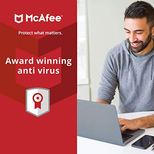 McAfee Anti-Virus - 1 PC, 1 Year (Email Delivery in 2 hours- No CD) 3