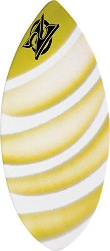 Zap Wedge Medium Skimboard - 45x20 Assorted Yellow ()