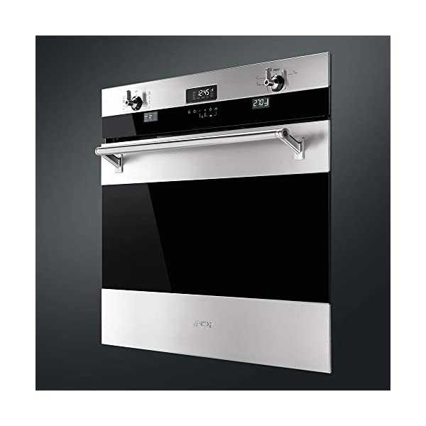 Smeg SOU330X1 Classic Aesthetic 30-Inch Stainless Steel Electric Multifunction Wall Oven 2