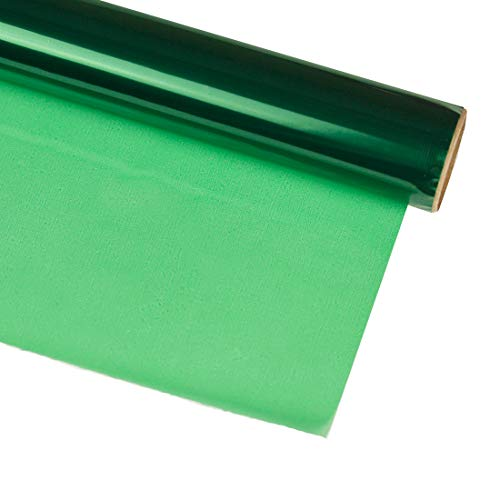 Hygloss Products, Inc Green 40 in. x 100 ft Cellophane Gift Wrap Roll