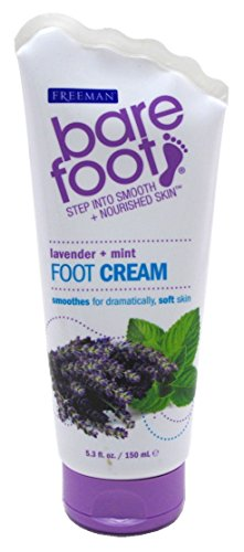 Freeman Bare Foot Foot Cream Healing Lavender & Mint 5.3oz