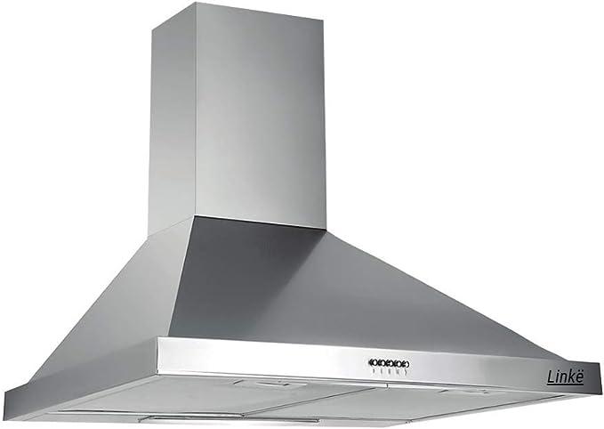 Linke LKDM60W - Campana decorativa de pared, 60 cm, modo mixto con iluminación, LKDM60W: Amazon.es: Bricolaje y herramientas
