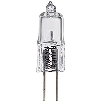 12 Pcs Halogen Jc Type Light Bulb G4 Base 12v 20w Watt