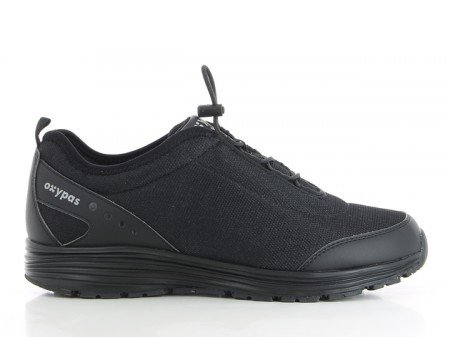 Oxypas MaudS3701blk Maud Sra Working Shoe With Coolmax Lining