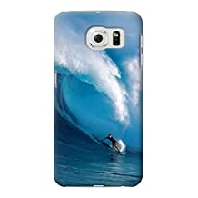 R0438 Hawaii Surf Case Cover For Samsung Galaxy S6 Edge
