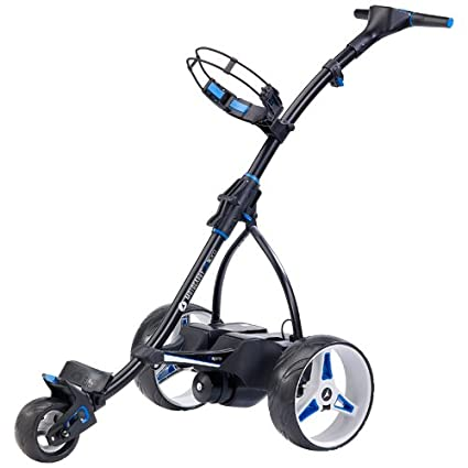 CARRITO DE GOLF ELECTRICO MOTOCADDY S 3 CON BATERIA DE LITIO 18 HOYOS COLOR NEGRO
