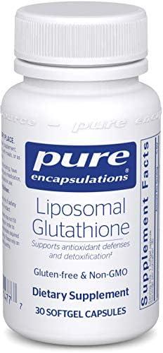 Pure Encapsulations - Liposomales Glutathion - Antioxidantien, Leberunterstützung und Entgiftung * - 30 Kapseln mit Softgel