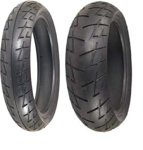 - Shinko Raven 009 set 120/70zr17 Front & 190/50zr17 rear 190 50 17 120 70 17 2 Tire Set