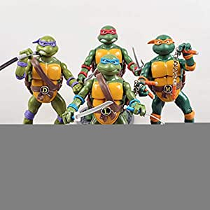 HAIZI FIGURE 4 Teenage Mutant Ninja Turtles TMNT Figura De ...