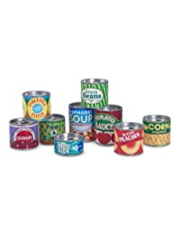 Melissa & Doug Melissa & Doug Let's Play House Grocery Cans