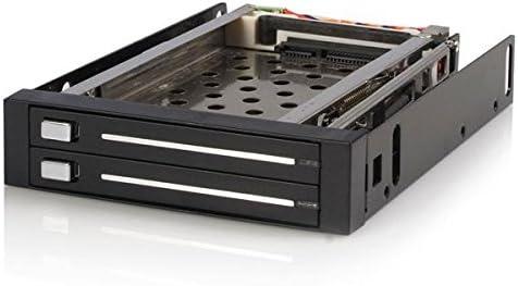 StarTech.com Rack Móvil Backplane de 2 Discos Duros HDD SATA 2,5 ...