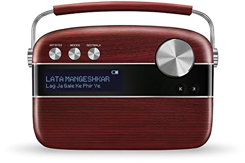 Saregama Carvaan Portable Digital Music Player (Cherrywood Red) (Best Jokes In Tamil)