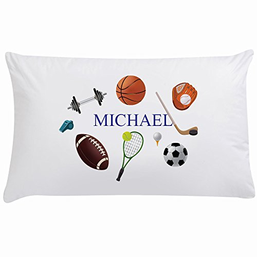 Monogram Online SB5199 Customized Kids Sports Pillowcase