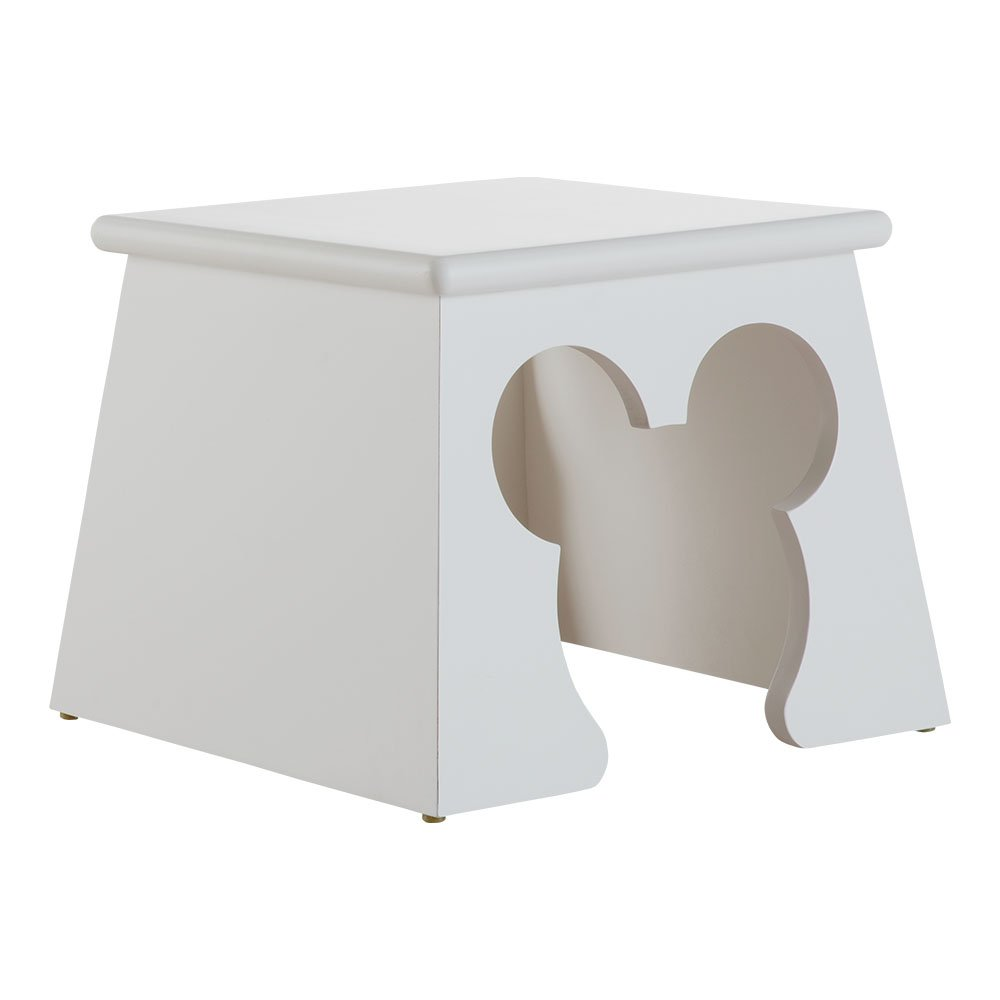 Ethan Allen | Disney Cheers for Ears Stool, Snow by Ethan Allen