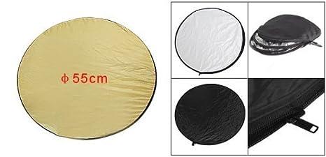 Amazon.com: eDealMax 60cm 24 5 en 1 Reflector de luz Fotografía Difusor plegable Disco: Electronics