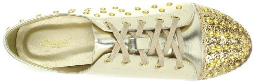 Scarpe Ricercate Da Donna Stuy Fashion Sneaker Gold