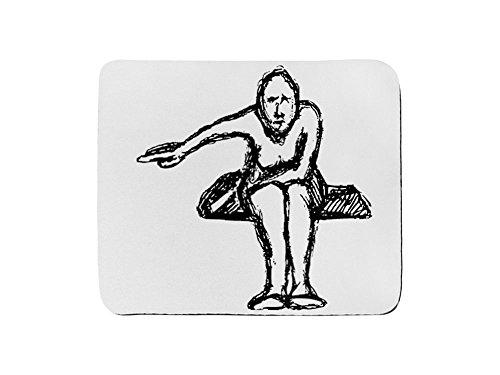 Maus Pad Rechteck von Sketch Frau Spitzkelle