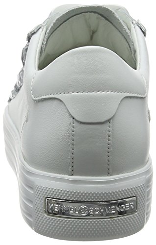 und Up Blanco para Sohle Crystal Kennel Bianco Mujer Schmenger Zapatillas Blanco 4AEwExq1d