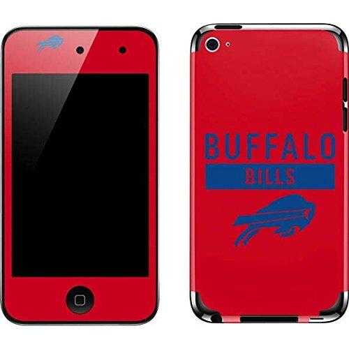 Skinit NFL Buffalo Bills iPod Touch (4th Gen) Skin - Buffalo Bills Red Performance Series Design - Ultra Thin, Lightweight Vinyl Decal Protection