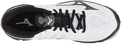 Mizuno Womens Wave Lightning Z4 Volleyball Shoe White/Black RoWTGT7jrm