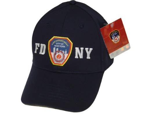 FDNY Baseball Cap Hat Officially Licensed by The New York City Fire Department