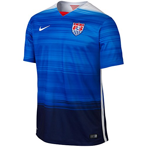 Nike USA Stadium Away Jersey (GAME ROYAL/LOYAL BLUE/FOOTBALL WHITE/FOOTBALL WHITE) (S) ()