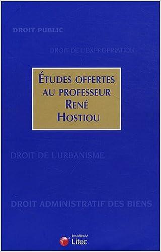 Lire un Etudes offertes au professeur René Hostiou pdf