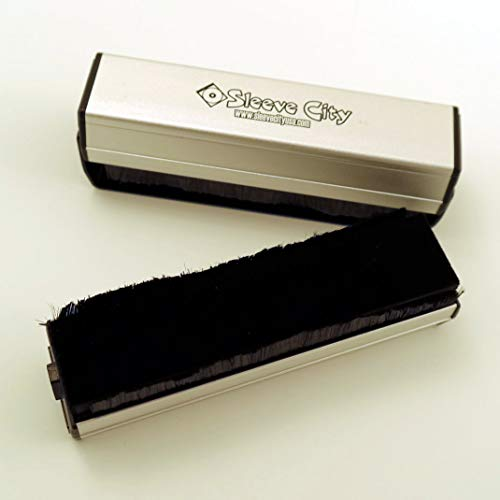 Sleeve City Double Bristle Record Cleaning Brush ()