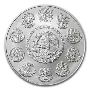 2012 2 oz Silver Mexican Libertad (Brilliant Uncirculated)