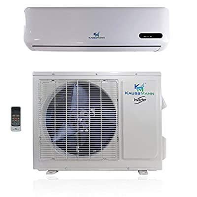 22000 Btu (1.8 Ton) 15 SEER Inverter Ductless System - Mini Split Air Conditioner, Heat Pump, Heating, Cooling, Dehumidification, Ventilation. Comes with 15 Feet Installation Kit. 208~230 VAC