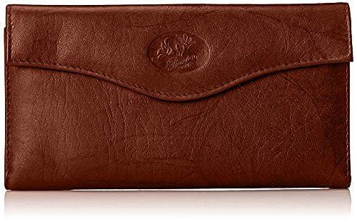 New Buxton Womens Heiress High Quality 100/% Leather Organizer Clutch