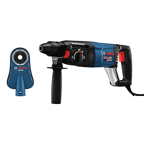 Bosch 11255VSR-HDC 1 In. SDS-plus Bulldog Xtreme Rotary Hammer with Dust Shroud ()