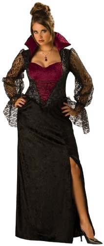 Midnight Vampiress Adult Costume - Plus Size