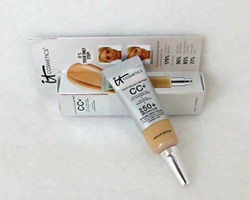 it Cosmetics CC+ Cream SPF 50 in Medium in Deluxe Travel Siz