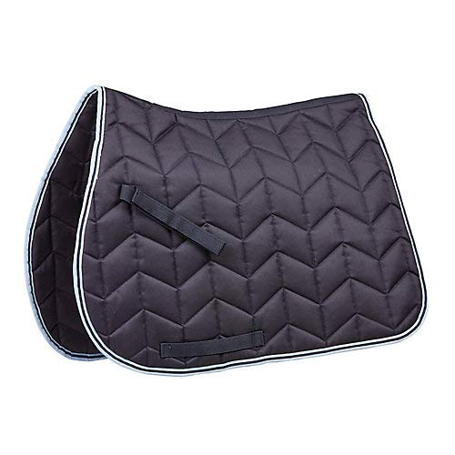 Quilted Pony - Saxon Element Quilted AP Saddle Pad Pony Navy/Blue