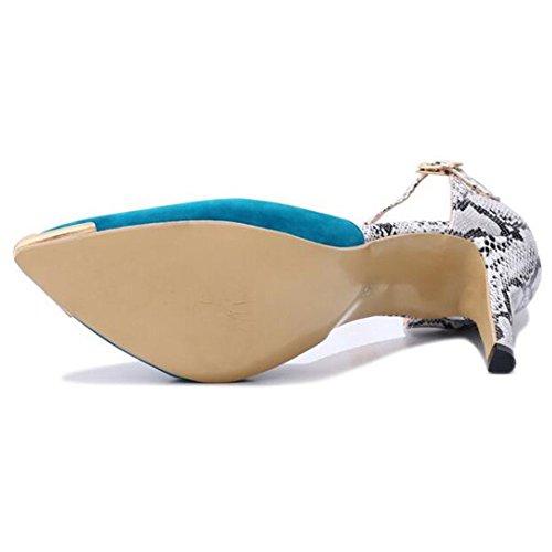 Moda Black para Mujer Cómodos Zapatos De 4Xwqaa