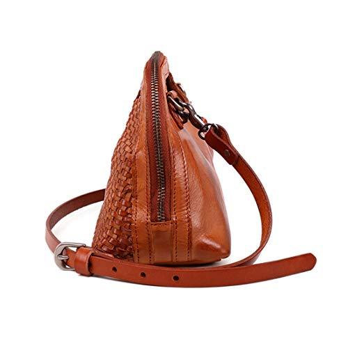 en à Tous de Cuir bandoulière Les Sac Brown Style Color à Coffee Sac Main Jours Voyage véritable Main Femmes bandoulière Vintage Fait pour TqtUggdw
