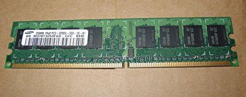 - M378T3253FG0-CCC:SAMSUNG 256MB PC2-3200 CL3 DDR2-400 240-PIN