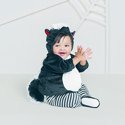Baby Plush Skunk Vest Costume -