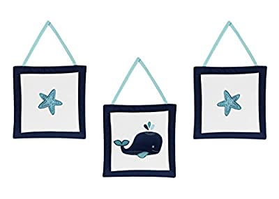 Wall Hanging Decor Accessories for Blue Whale Collection