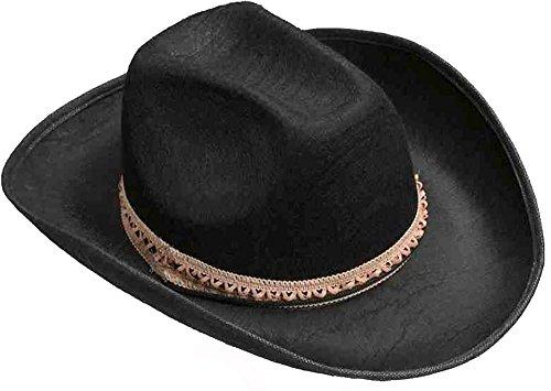 Cowboy Hat Costumes (Black Felt Cowboy Hat)
