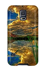 High Quality ZippyDoritEduard Cloud Reflections Skin Case Cover Specially Designed For Galaxy - S5