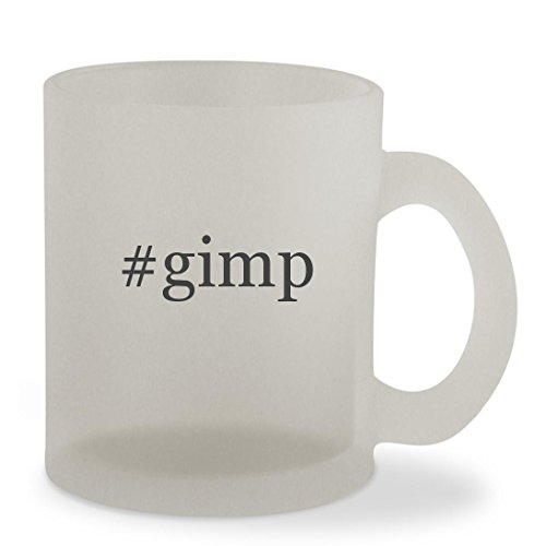 #gimp - 10oz Hashtag Sturdy Glass Frosted Coffee Cup Mug - The Gimp Pulp Fiction Costume