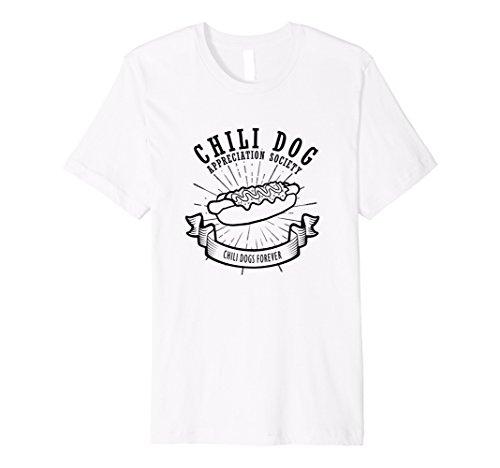 Mens Chili Dog Appreciation Society Funny Food Shirt XL - Sunnies Dog