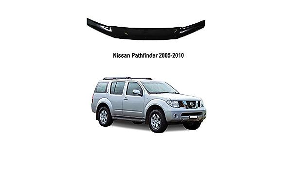 A-Technic Deflector de cap/ó para Nissan Pathfinder 2005-2010 color negro