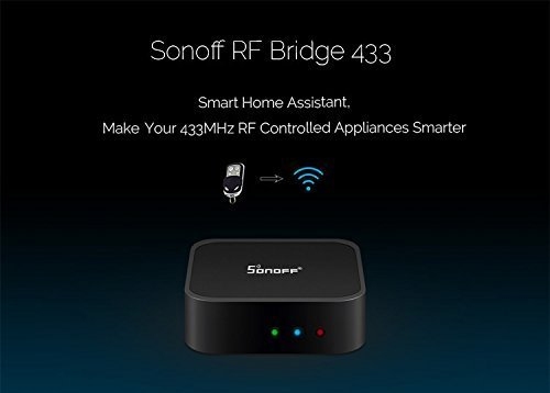 Sonoff Bridge Or Sonoff Rf Bridge Works With Amazon Alexa Google