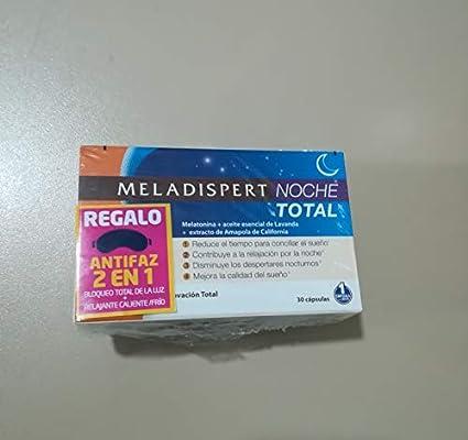 MELADISPERT NOCHE TOTAL 30 CPS REGALO ANTIFAZ (RELAJANTE FRIO/CALOR)