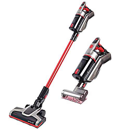 MATELOS Cordless Vacuum Cleaner, 2-in-1 Stick Vacuums, High Power Long Lasting Lightweight Handheld Rechargeable Vacuum Electric Brooms