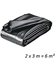 Heissner Tf171-00 Pvc Teichfolie, 0,5 Mm, 6 Qm, Schwarz (2m X 3m )